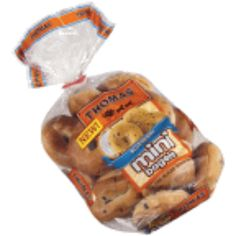 I'm learning all about Thomas Bagels-Mini-Blueberry at @Influenster!