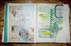 liliema art journal page
