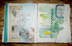 Liliema -- every page of this journal is beautiful.  click through to see more.
