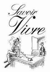 Αποτέλεσμα εικόνας για savoir vivre