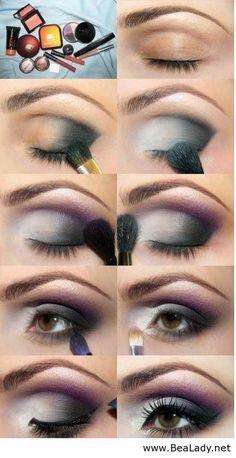 18 Eye Makeup Tutorials - BeaLady.net