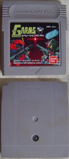 ‪#‎GameBoy‬ Japanese :  G-Arms Operation #Gundam DMG-GAJ http://www.japanstuff.biz/ CLICK THE FOLLOWING LINK TO BUY IT ( IF STILL AVAILABLE ) http://www.delcampe.net/page/item/id,0366551095,language,E.html