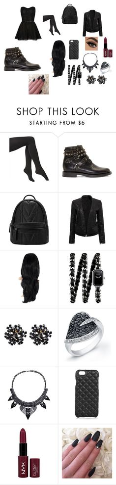 """""""Untitled #4"""" by meganisweird on Polyvore featuring Via Spiga, Yves Saint Laurent, Chanel, The Case Factory and NYX"""