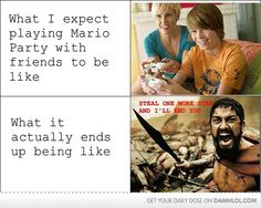 Mario Party truth