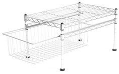 Seville Classics Single Basket Organizer, 11.5 x 17.5 x 10-Inch – $14.23 (reg. $25)