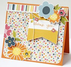 Pebbles Inc, Sunny Side Collection Project Life Cards, Scrapbook Cards, Scrapbooking Ideas, Card Making Inspiration, Card Sketches, Paper Cards, Kids Cards, Cute Cards, Homemade Cards