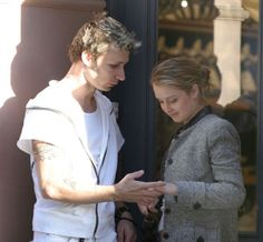 Mike Dirnt and Brittany Cade