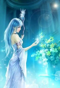 Beautiful lady ... ♡