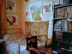 """an interior to love in the book """"Russian House"""" by Ella Krasner"""
