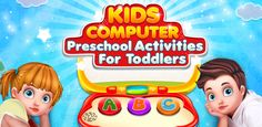 Play this Computer For & increase your in learning new things using the Free Games For Kids, Learning Games For Kids, Games For Toddlers, Learning Letters, Toddler Activities, Preschool Activities, Teaching Kids, Kids Computer, Picture Letters