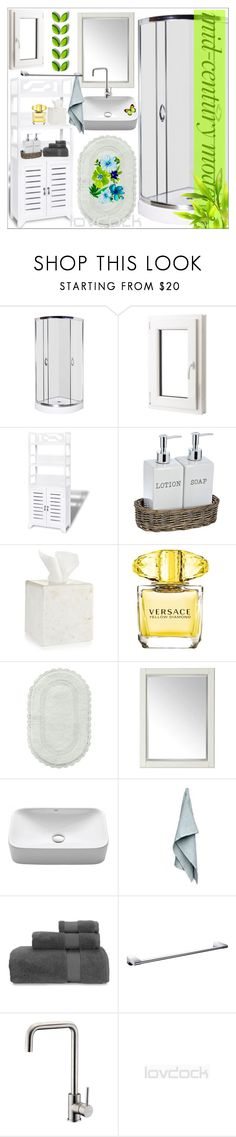"""LovDock 7/ 10"" by emina-095 ❤ liked on Polyvore featuring interior, interiors, interior design, home, home decor, interior decorating, Hotel Collection, Versace, Jessica Simpson and Universal Lighting and Decor"