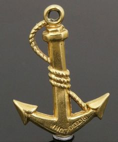 9Carat Yellow Gold 'Anchor' Charm (Approx 13x16mm)  https://www.jollysjewellers.com/product/9carat-yellow-gold-anchor-charm-approx-13x16mm/