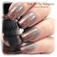 Nail Art by Belegwen: Shimmer Polish: Katherine
