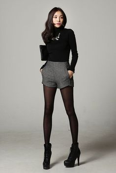 awesome Basic Turtleneck Top by http://www.redfashiontrends.us/korean-fashion/basic-turtleneck-top/