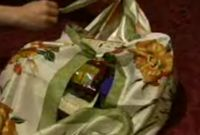 How to Do Furoshiki (Wrap and Carry Things With Square Cloth). With paper and plastic bags falling out of favour around the world, we are left to wonder if heavy canvas bags or bulky reusable bags are the only method left to us for. Furoshiki Wrapping, Reusable Bags, Carry On, Hand Luggage, Carry On Luggage