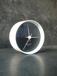 classic + simple.  Vintage Henning Koppel clock by lamanastronaut on Etsy