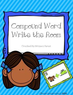 To use this resource: 1. Print 2. Cut out the compound word cards. 3. Laminate the compound word cards. 4. Scatter the compound word cards around the room. 5. Students find the compound word cards and write the correct compound word down on the recording sheet. Included in this package: - 20 compound word cards with numbers and compound word pictures - 1 Recording Sheet - 1 Answer Sheet. This is for 1st and/or 2nd grade.