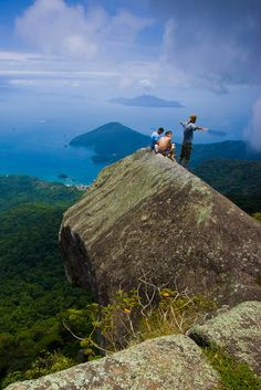 Parrot's Peak...Ilha Grande Brazil