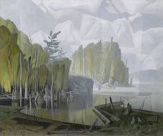 Artist: A.J. Casson, Title: MORNING SUN, AFTER SHOWER - click for larger image