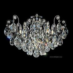 395010_Semi Flush Ceiling Lights_Zhongshan Sunwe Lighting Co.,Ltd. We specialize in making swarovski crystal chandeliers, swarovski crystal chandelier,swarovski crystal lighting, swarovski crystal lights,swarovski crystal lamps, swarovski lighting, swarovski chandeliers.