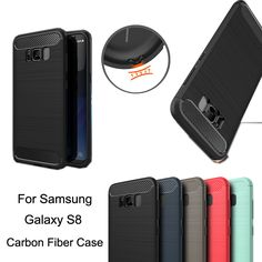 """5.8"""" Coque For Samsung Galaxy S8 Case Shockproof Armor Hybrid Tough Silicone Rubber Dissipate Heat Fundas Case For Samsung S8"""