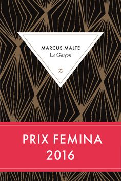 Le Garçon - Marcus Malte