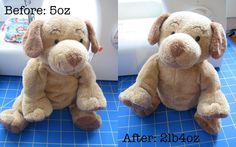 DIY Making Weighted Stuffed Animals