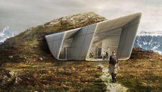 Museo-Messner-Kronplatz-Zaha_Hadid-acceso