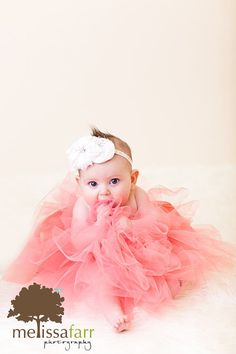 Miss Frou Frou!  Peach Tutu by BambaroosBoutique