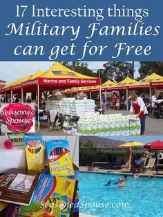 Military Families can get tons of things for Free! Do you have these programs and resources at your base?