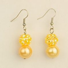 PandaHall Jewelry—Fashion Glass Pearl Earrings with Resin Rhinestone Beads | PandaHall Beads Jewelry Blog