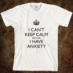 """I hate the appropriation of the """"keep calm"""" propaganda, so this is extra perfect for me."""