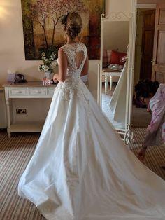 Designer Wedding Dresses, Lace Wedding, Awards, Handmade, Beautiful, Fashion, Hand Made, Moda, Fashion Styles