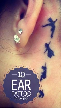 Ear tattoos are another trendiest body arts that offer funky & stylish look. Here are top 10 ear tattoo designs that can be worn inside or behind ...