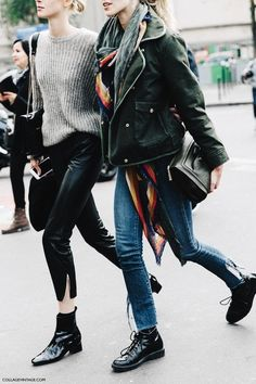 40 Fall Street Style Outfits to Inspire Street Style Outfits, Looks Street Style, Mode Outfits, Looks Style, Style Me, Fashion Outfits, Fashion Boots, Daily Style, Fashion Clothes