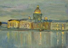 КоровинК.А. Вид Исаакиевского собора с Невы
