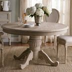 Pedestal Dining Table - contemporary - dining tables - by Benjamin Rugs and Furniture