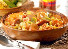 Chicken and Sausage Cajun Jambalaya | Food Recipes