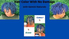 How to Color your Hair with no Damage| using Gemini Naturals| TwistOut| ... Temporary Hair Color, Color Your Hair, Twist Outs, Gemini, Twins, Box Braids, Twin, Curly Hair, Gemini Zodiac