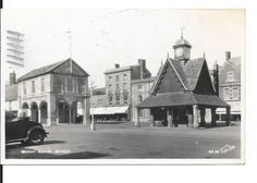 Market Square Witney Oxfordshire   eBay Witney Oxfordshire, Old Postcards, Family History, Geography, Genealogy, England, Marketing, World, Places