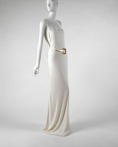 Gucci (Italian, founded 1906). Ensemble, Evening. Tom Ford (American, born 1961). 1996–97, Italian. The Metropolitan Museum of Art, New York. Gift of Gucci, 1999 (1999.136.2a–d)