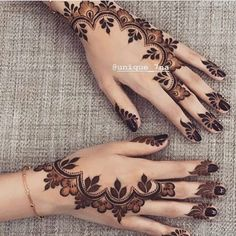 Image may contain: one or more people Finger Henna Designs, Arabic Henna Designs, Indian Mehndi Designs, Modern Mehndi Designs, Mehndi Design Pictures, Mehndi Designs For Fingers, Henna Designs Easy, Beautiful Mehndi Design, Latest Mehndi Designs