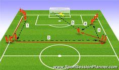 Soccer Passing Drills, Soccer Practice Drills, Football Coaching Drills, Soccer Drills For Kids, Football Workouts, Team Coaching, Soccer Skills, Youth Soccer, Soccer Training Program