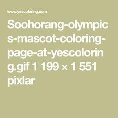 Soohorang-olympics-mascot-coloring-page-at-yescoloring.gif 1199 × 1551 pixlar
