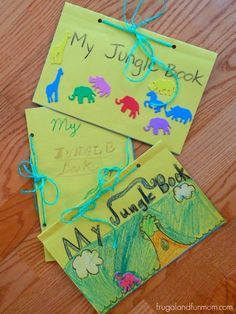 Kids Homemade The Jungle Book Craft!
