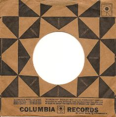 Great use of an old pattern standard for this Columbia Records sleeve. Originally quilt like and folky, but modern and edgy here. Vinyl Cover, Cd Cover, Cover Art, Vinyl Music, Vinyl Records, Vinyl Board, Vinyl Sleeves, Jazz, Record Art