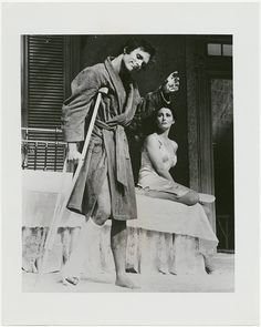 A 1974 revival by the American Shakespeare Theatre in Stratford, Connecticut, featured Elizabeth Ashley, Keir Dullea, Fred Gwynne, Kate Reid, and Charles Siebert.