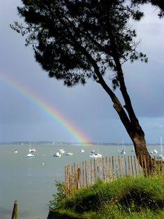 Ce soir, #kervoyal ! #damgan #morbihan Photos, France, Beach, Water, Outdoor, Brittany, Places, Recipes, Gripe Water