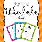 These charts are set up for ukuleles tuned to G, C, E, and A and are for students learning C, C7, F, Am, G, and/or G7 chords.   These charts can be...