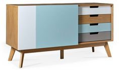 Belsham midcentury-style sideboard at Swoon Editions